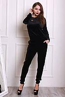 Современный костюм черного цвета