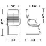 Кресло ORMAN Tilt PM64, фото 3