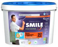 Фарба «SMILE®» SD-54 декоративна з ефектом теплозбереження 0,6 кг/1л