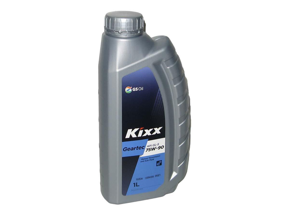 Масло редукторное KIXX GEARTEC 75W-90 1л GL-5