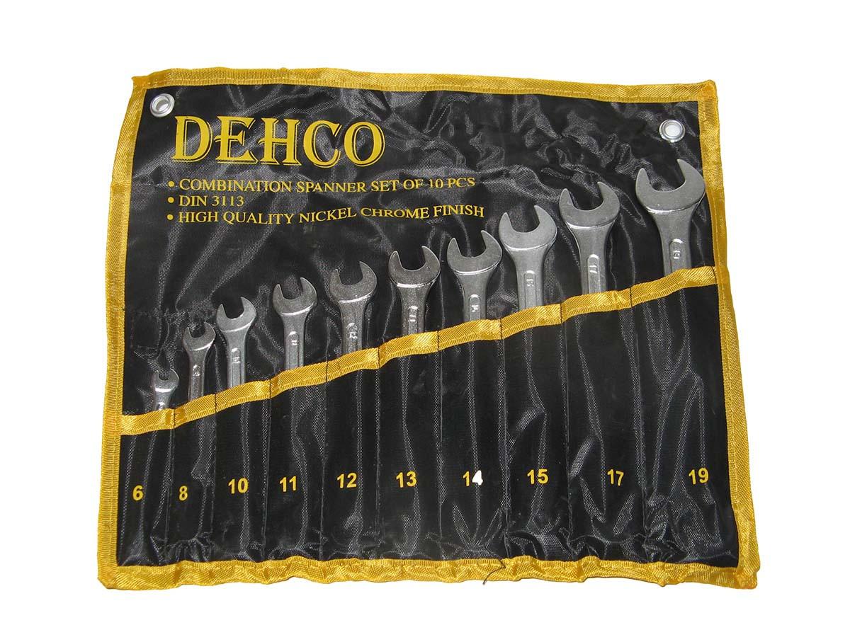 Набор ключей рожково-накидных 10шт сумка