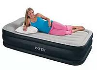 Надувная односпальная кровать Intex 64132 (99х191х42 см.)