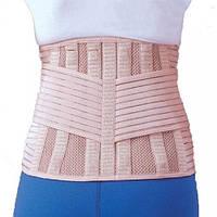Бандаж для спины согревающий с 6-ю ребрами жесткости