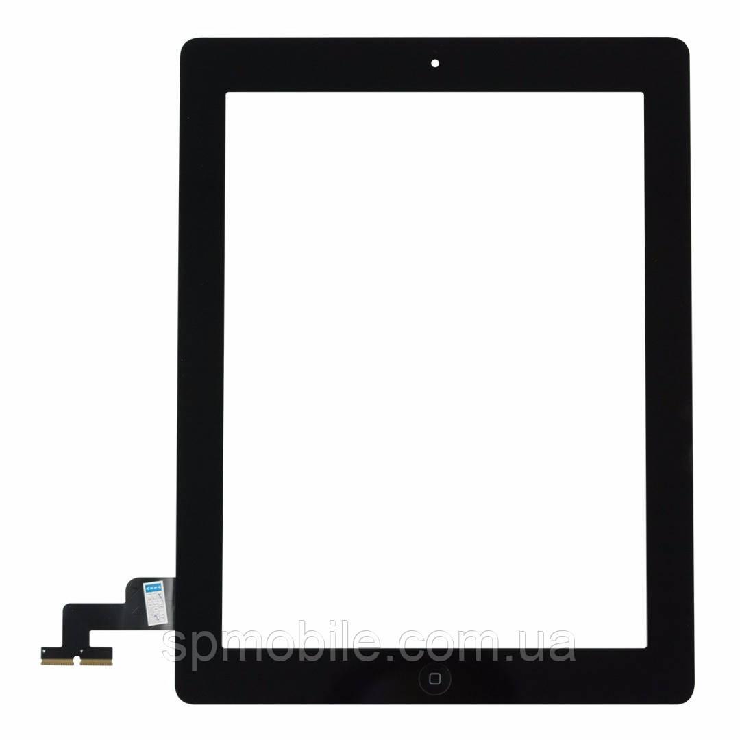 Тачскрин iPad 2(A1395,A1396,A1397) с кнопкой (Black)