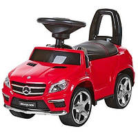Детская машинка каталка толокар Bambi M 3185L-3 AMG Mercedes кожа музыка EVA колеса