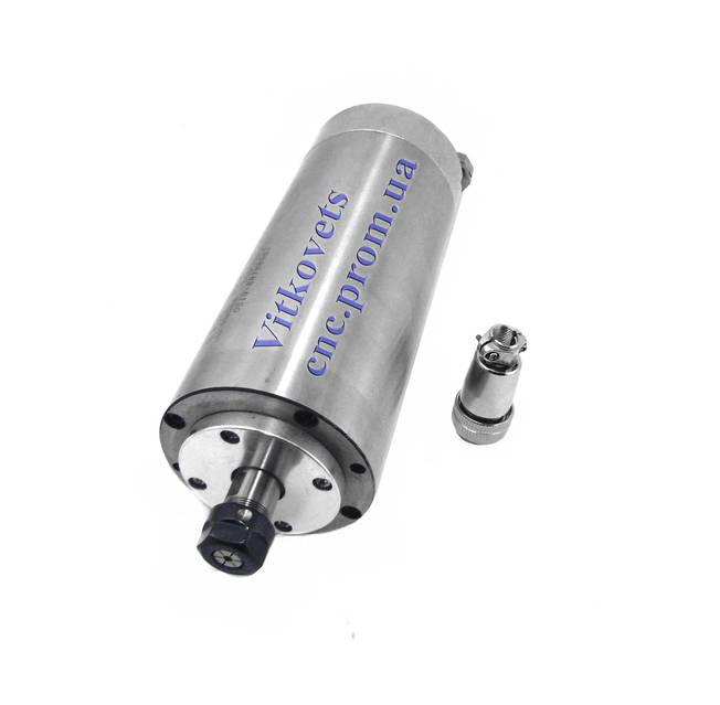 Шпиндель для ЧПУ 3 kw ER20 100мм водяное охлаждение, фото 1