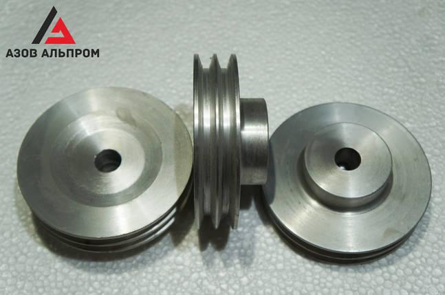 Шкив клино-ременной передачи со ступицей 120 мм, профиль B, фото 2