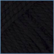 Пряжа для вязания Valencia Etamin(Валенсия Этамин), 120 (Black) цвет, 100% акрил