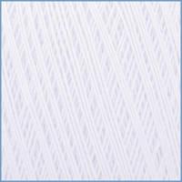 Пряжа для вязания Valencia EURO Maxi(Евро Макси), 001 (White) цвет, 100% мерсеризованный хлопок