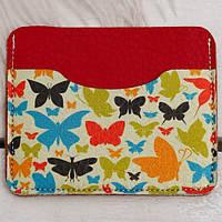 Картхолдер «Разноцветные бабочки», фото 1