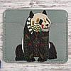 Картхолдер «Панда на сером фоне»