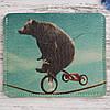 Картхолдер «Медведь на велике»