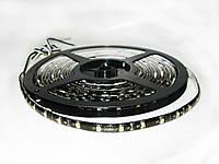 Подсветка лента LED 12V 5M, 60 led/m 1210SMD white черная