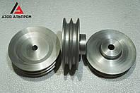 Шкив клино-ременной передачи со ступицей 150 мм, профиль B