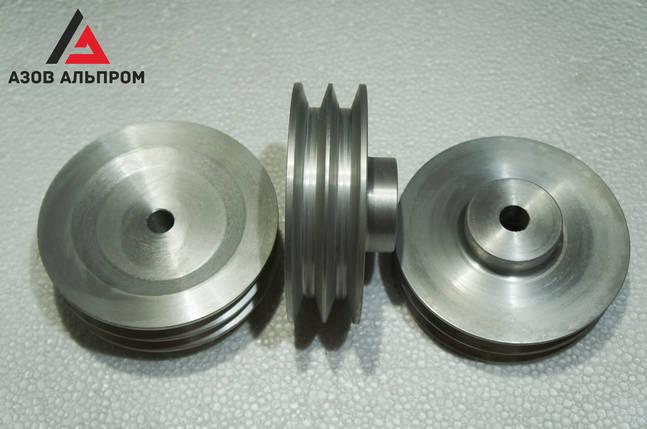 Шкив клино-ременной передачи со ступицей 150 мм, профиль B, фото 2
