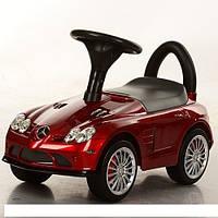 Детская машинка каталка толокар Bambi M 3189S-3 Mercedes музыка EVA колеса Покраска