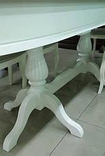 Стол раскладной обеденный Селена 1600/2800*1000*800 производство Румыния, фото 3