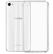 Чехол накладка силиконовый TPU Remax 0.2 мм для Meizu M5 прозрачный