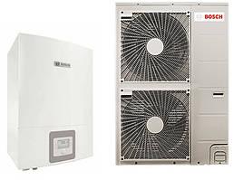 Тепловой насос воздух-вода  BOSCH Compress 3000 AWBS  8 кВт