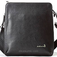 Мужская сумка на плечо Kabinias кожа черный цвет