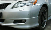Накладка на бампер (юбка) Toyota Camry 40 Передняя