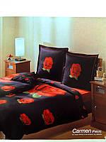 Семейный комплект постельного белья сатин ТАС