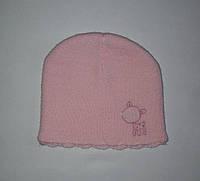 Детская шапка для новорожденных девочек розовая Early Days