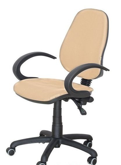 Кресло Бридж 50 AMF-5 Неаполь-01 Бежевый (кожзаменитель) - Матрас Диван - мебельный интернет магазин в Киеве
