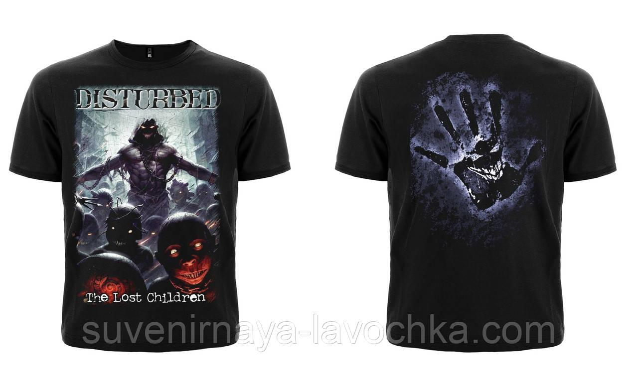 """Рок футболка Disturbed """"The Lost Children"""""""