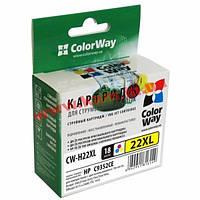 Картридж ColorWay HP №22XL Color (аналог C9352CE) (CW-H22XL)