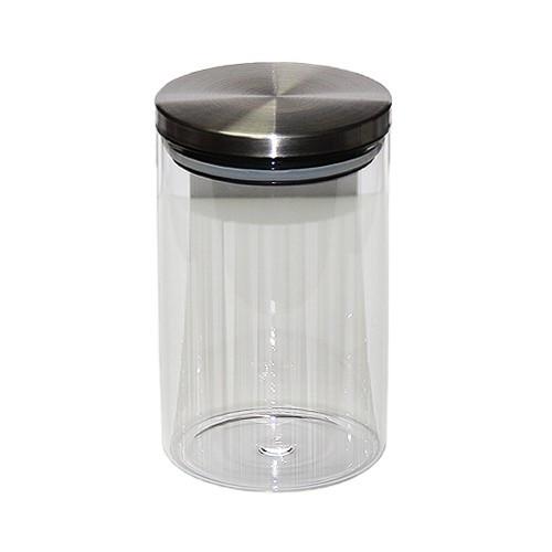 "Стеклянная банка для хранения чая ""Башня"" 1000 мл"