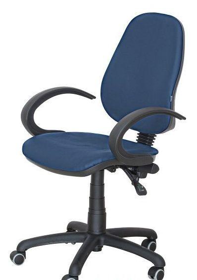 Кресло Бридж 50  AMF-5 Неаполь-22 Синий (кожзаменитель) - Матрас Диван - мебельный интернет магазин в Киеве