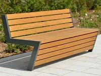 Садовые скамейки  из лиственницы