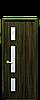 Дверь межкомнатная ГЕРДА СО СТЕКЛОМ САТИН И РИСУНКОМ Р3 Экошпон, фото 2