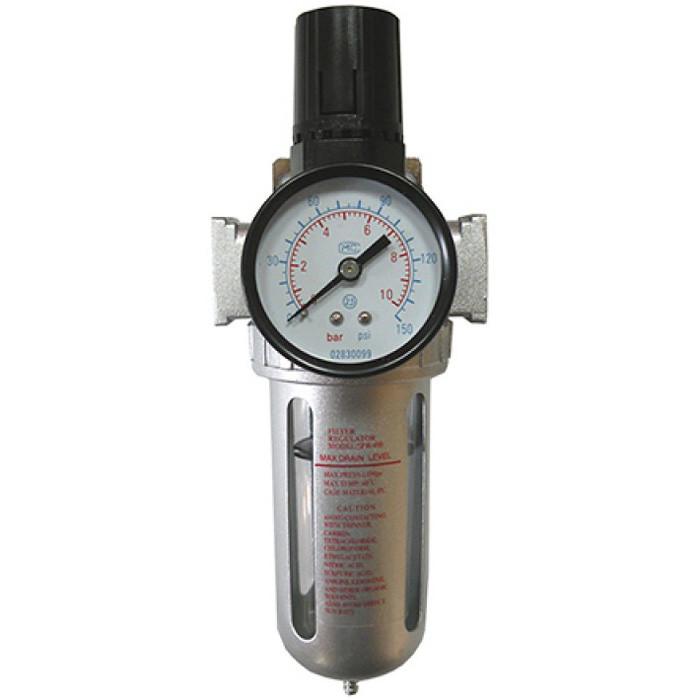 Фильтр очистки воздуха с редуктором (PROFI) 1/2″ (SFR400) AIRKRAFT AFR804
