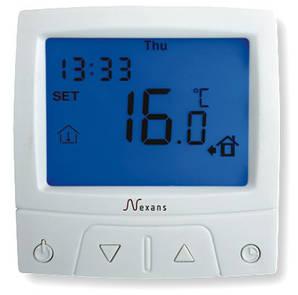 Терморегулятор программируемый для теплого пола MILLITEMP CDFR-003 Nexans Гарантия 2 года