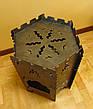 """Раскладной мангал-печь 3в1 """"Гюльчатай"""",2мм + комплект шампуров 6шт., с чехлом, фото 2"""
