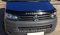 Дефлектор капота (мухобойка) Volkswagen T5 2003-2009