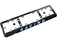 Рамка под номер NEON-Racing хром/подсветка
