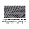 Коврики резиновые BMW X3 (E83) 2004- Stingray (2шт) 1027062, фото 3