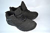 Кроссовки-ботинки мужские Restime нубук, зима OK-9118, фото 1