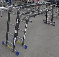 Werk 3х4 комбинированная шарнирная лестница-трансформер LC5412B