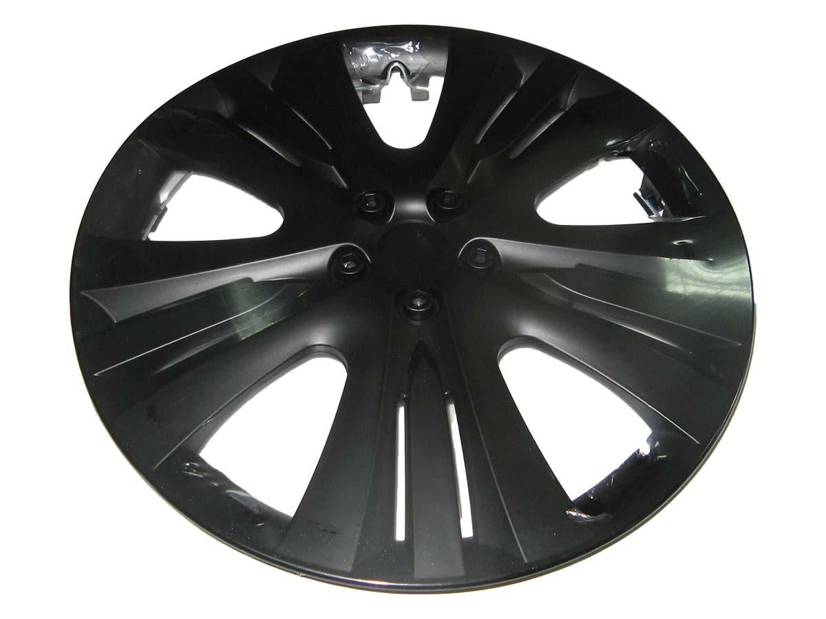 Колпаки на колеса R13 Lux черные колпак