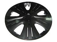 Колпаки на колеса диски для дисков R13 Lux черные колпак