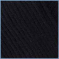 Пряжа для вязания Valencia Laguna(Валенсия Лагуна), 4007 (Black) цвет, 12% вискоза эвкалипт, 10% хлопок, 78% м