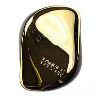 Гребінець для волосся Tangle Teezer Compact золотиста / Расческа для волос Тангл Тизер Компакт золотистая