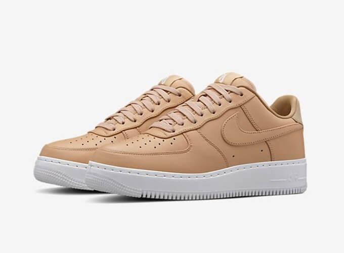 Кроссовки женские Nike Air Force 1 Low Vachetta Tan White (в стиле найк форс 0bee08d1eb9