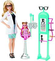 Barbie Игровой набор барби доктор офтальмолог Careers Eye Doctor Playset
