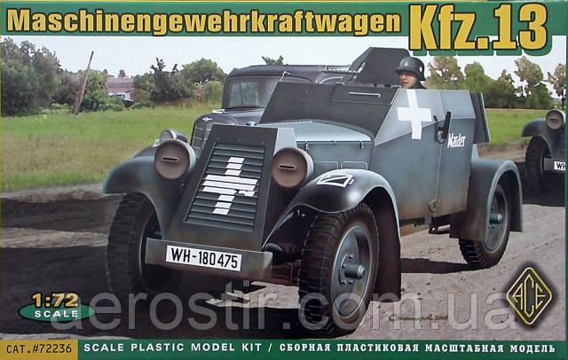 Maschinengewehrkraftwagen Kfz.13 1/72 ACE 72236