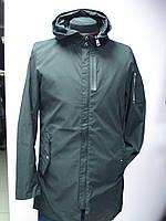 Куртка-ветровка мужская,молодёжная, удлиненная Glo-Storie